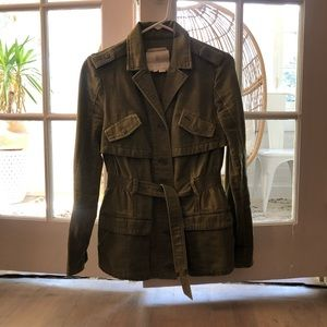 Anthropologie Hei Hei Military Jacket